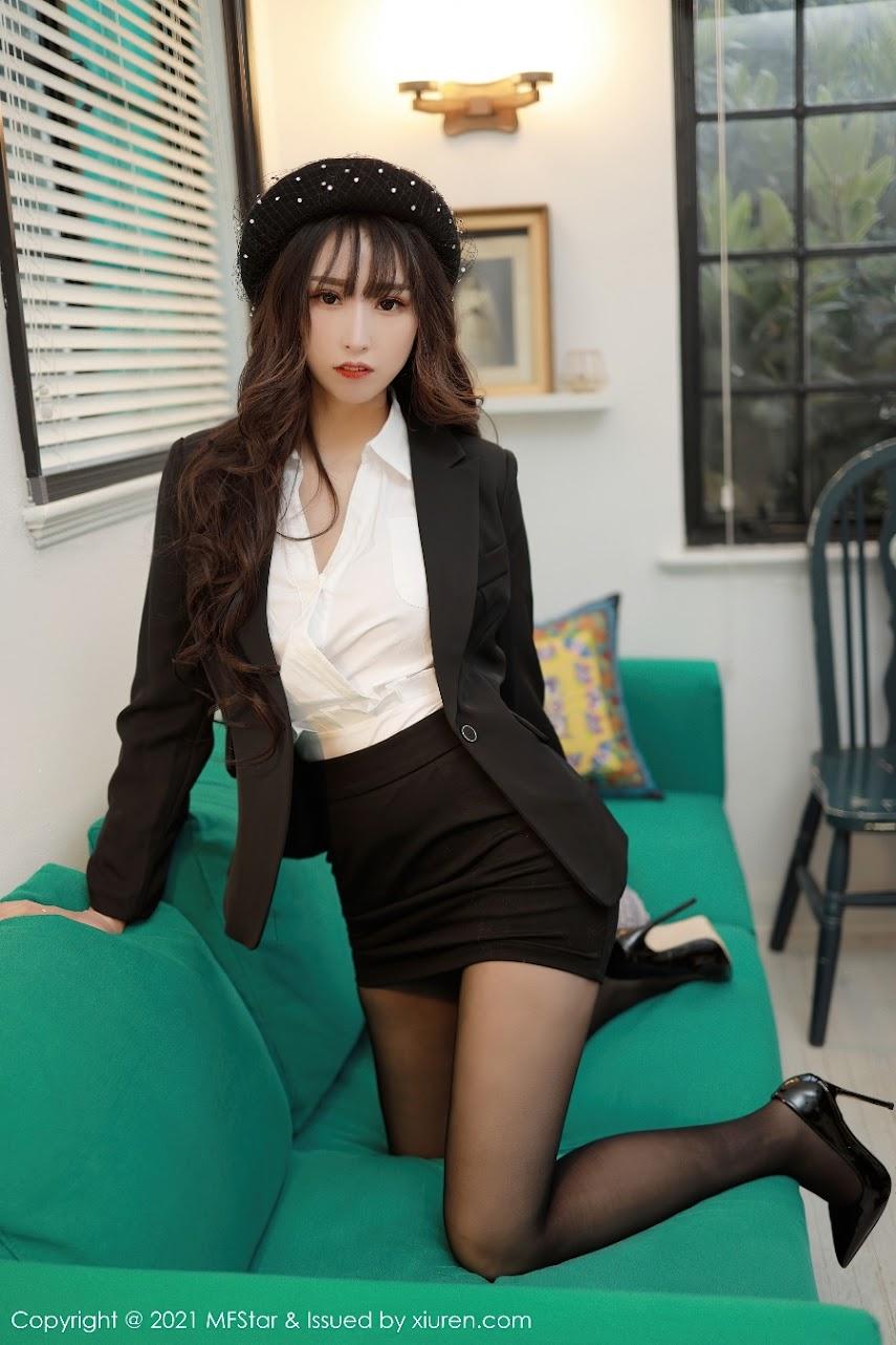 [MFStar] 2021-03-03 Vol.463 Xiaoboduo sexy girls image jav
